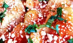 Salade de concombres pimentée