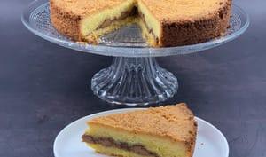 Le gâteau breton au praliné