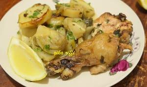 Pommes de terre au fenouil et au poulet