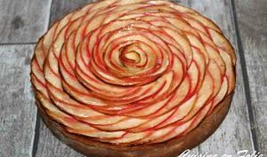 Tarte aux pommes façon Cédric Grollet