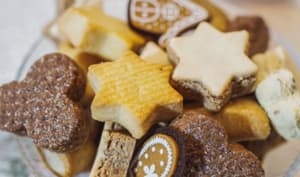 Sablés ayurvédiques au chocolat