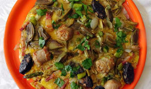 Omelette pascale à la Catalane