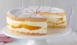 Gâteau mangue à la crème