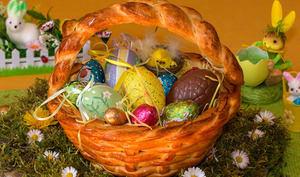 Panier de Pâques brioché