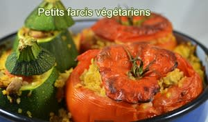 Petits farcis végétariens