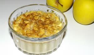 Clafoutis aux pommes avec reste de pâte à crêpes