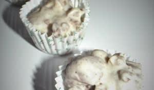 Roses des sables au chocolat blanc et au Chocapic