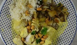 Poisson façon thaï, coco et gingembre