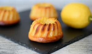Gâteau fondant au citron