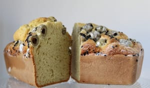 Cake aux olives et gingembre