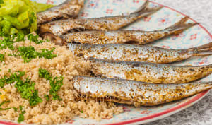 Sardines aux épices marocaines