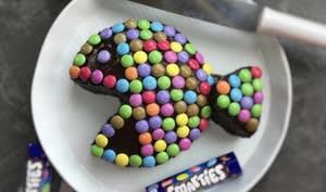 Gâteau poisson au chocolat et smarties