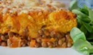 Hachis de patate douce végétarien
