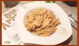 Poulet aux pâtes et épices cajun avec ou sans le Cookéo