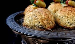 Pastilla à la konaffa au goût poulet M'hamar
