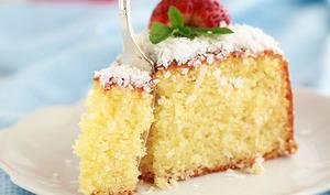 Gâteau moelleux noix de coco et yaourt