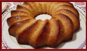 Gâteau de semoule au citron