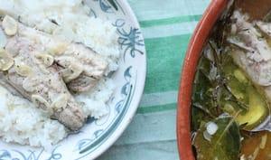 Maquereaux braisés à l'ail et à l'huile d'olive