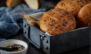 Khobz edar à la farine au four
