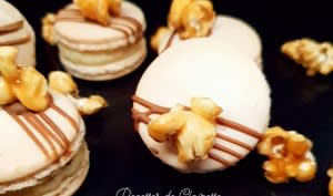 Macarons pop corn