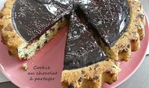 Cookie au chocolat à partager