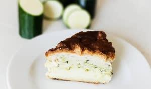 Gâteau magique aux courgettes
