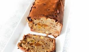 Cake anglais aux agrumes confits et fruits secs