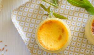 Crème aux oeufs verveine sarrasin