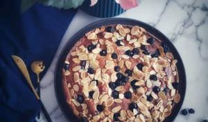 Gâteau aux Myrtilles et Amandes