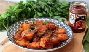 Curry rouge de pommes de terre