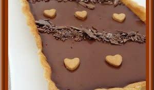 Tarte au chocolat Carambar