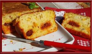 Cake au maïs chorizo et safran