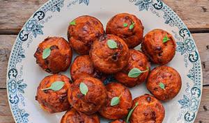Petits cakes tomate et feta