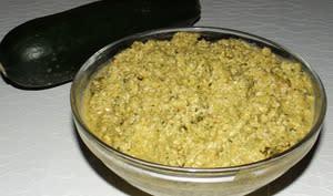 Pesto de courgettes et poivron