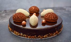 Tarte Orée des Bois (poires chocolat) deuxième version