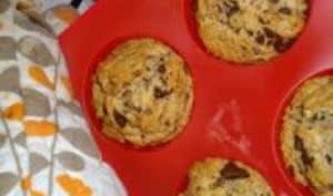 Muffins aux Noisettes et aux Pépites de Chocolat