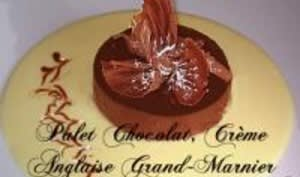 Palet Chocolat, Crème Anglaise au Grand-Marnier