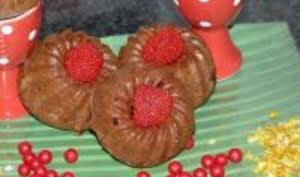 Petits Kouglofs au Chocolat