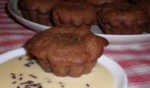 Soufflés au chocolat d'Ophélie