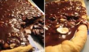 Tarte au Chocolat et aux Fruits Secs