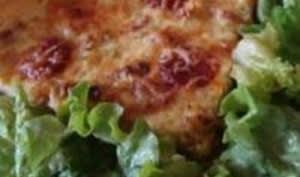 Tarte aux Poireaux et Chorizo