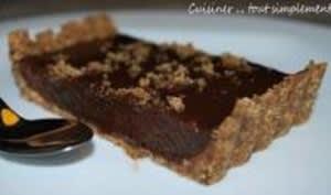 Tarte Chocolat - Marron sans cuisson