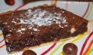 Tarte Chocolat Mousseuse et Croquante à la fois