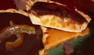 Tartelettes à l'Orange Confite et leur Nappage au Chocolat