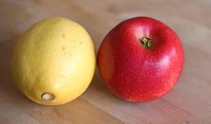 Eplucher et évider une pomme