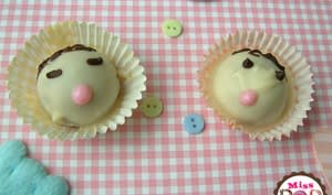 Cake pops bébé