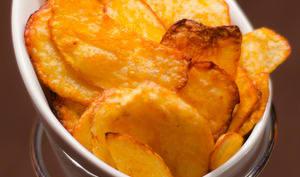 Chips de pomme de terre tex-mex