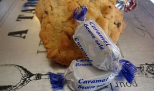 Cookies aux Caramels d'Isigny