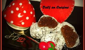 Bouchées au Chocolat-Amande & Coco