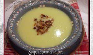 Soupe de pommes de terre